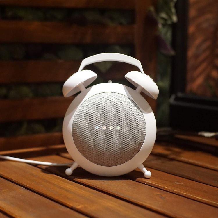 A Whimsical Google Home Mini Charging Stand That Looks