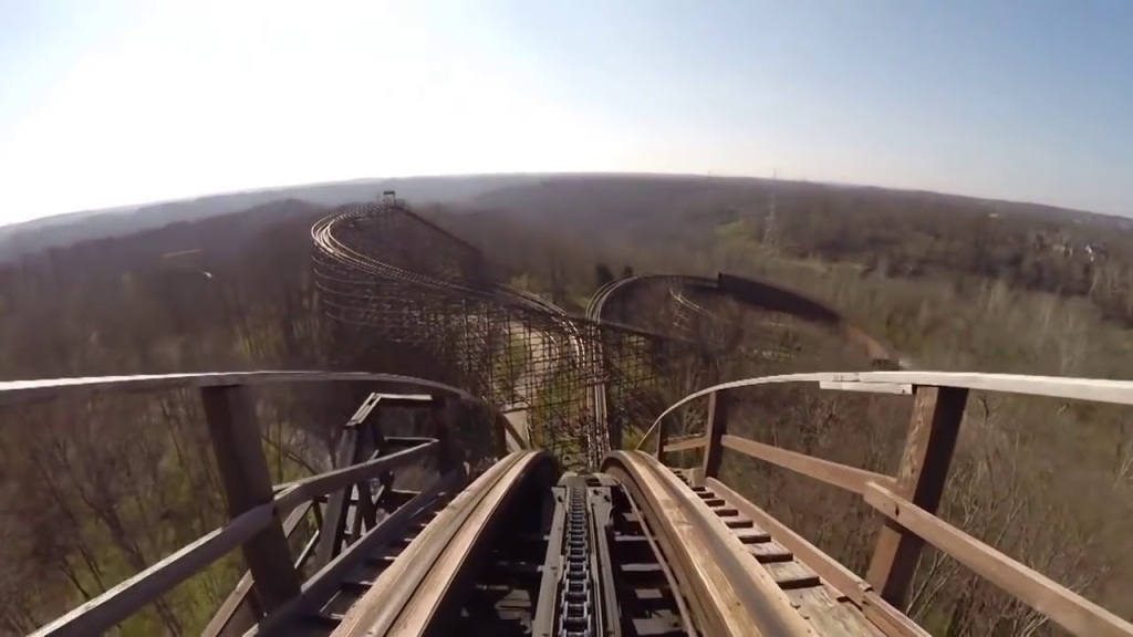 Ian Curtis Rides a Rollercoaster