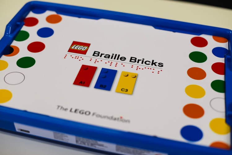 LEGO Braille Bricks Box