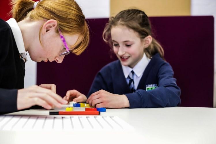 LEGO Braille Bricks Girls