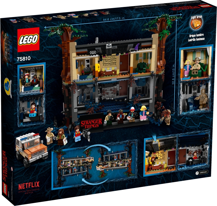 LEGO Stranger Things Box