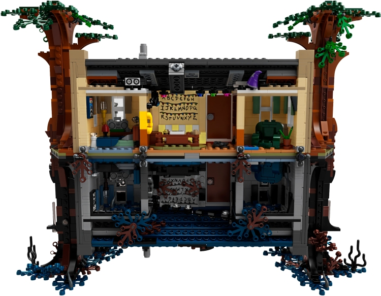 LEGO Stranger Things House