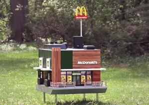 McHive the world's smallest McDonald's