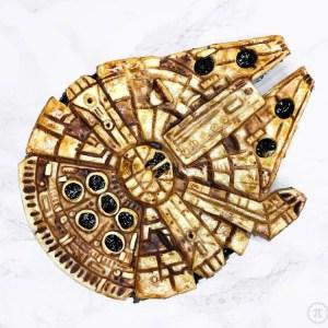 Millenium Falcon Mince Pie