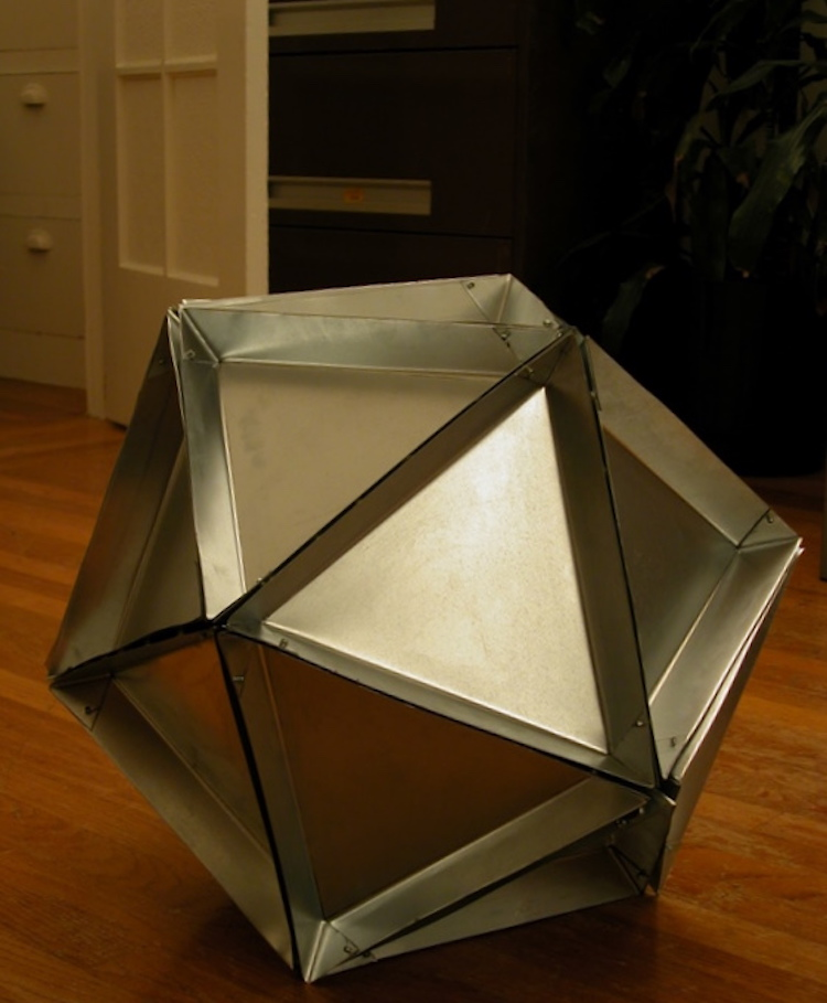 Modular Pie-Cosahedrone Pan