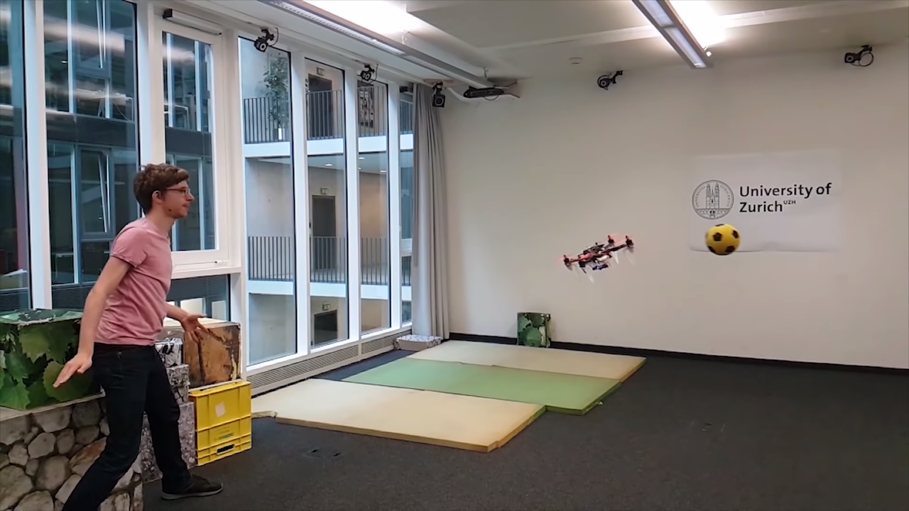 Testing Out a Drone's Obstacle Avoidance Recognition Using a One Way Game of Dodgeball