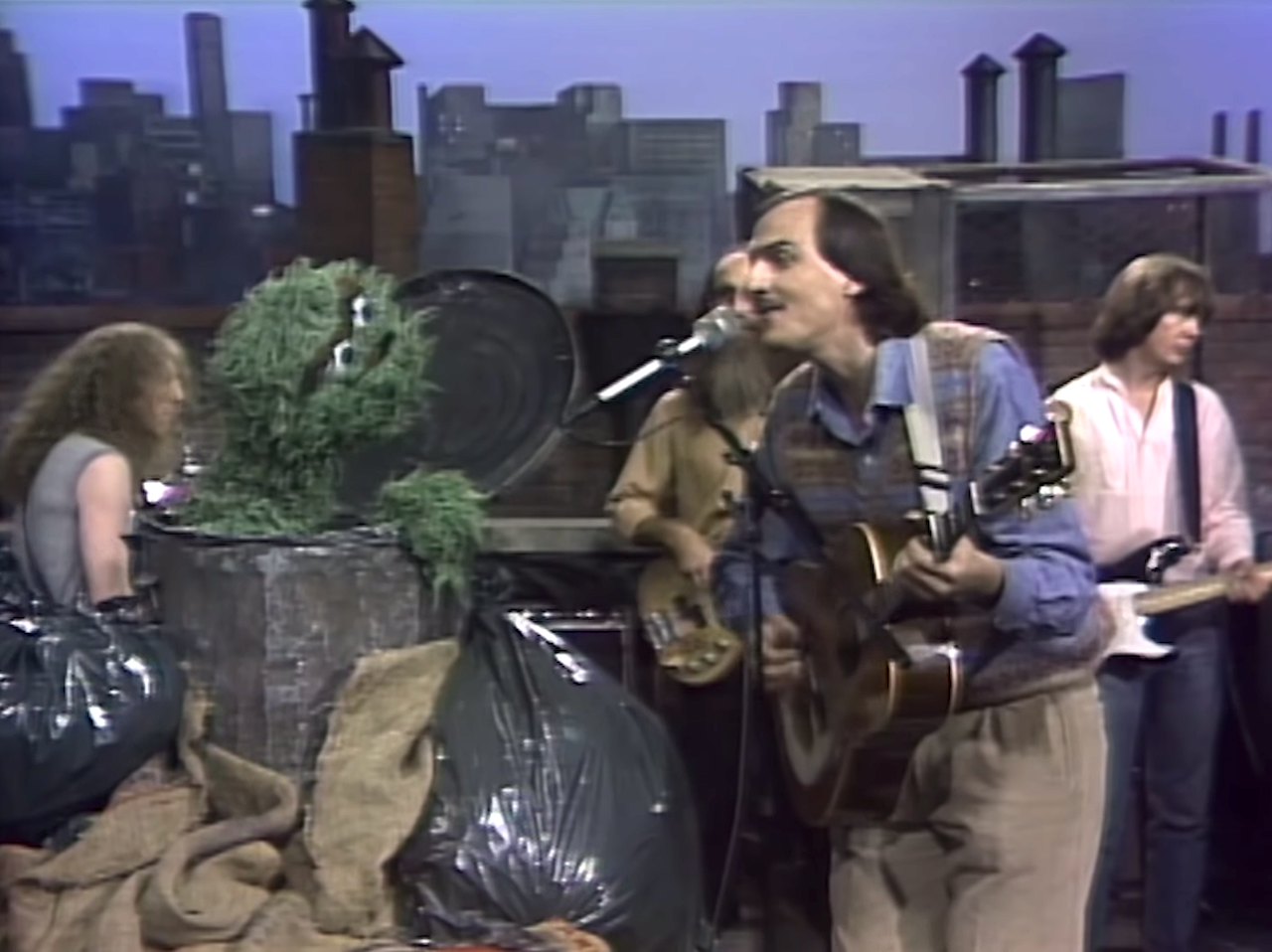 James Taylor and Oscar the Grouch Sing a Duet on a Classic Episode of 'Sesame Street'