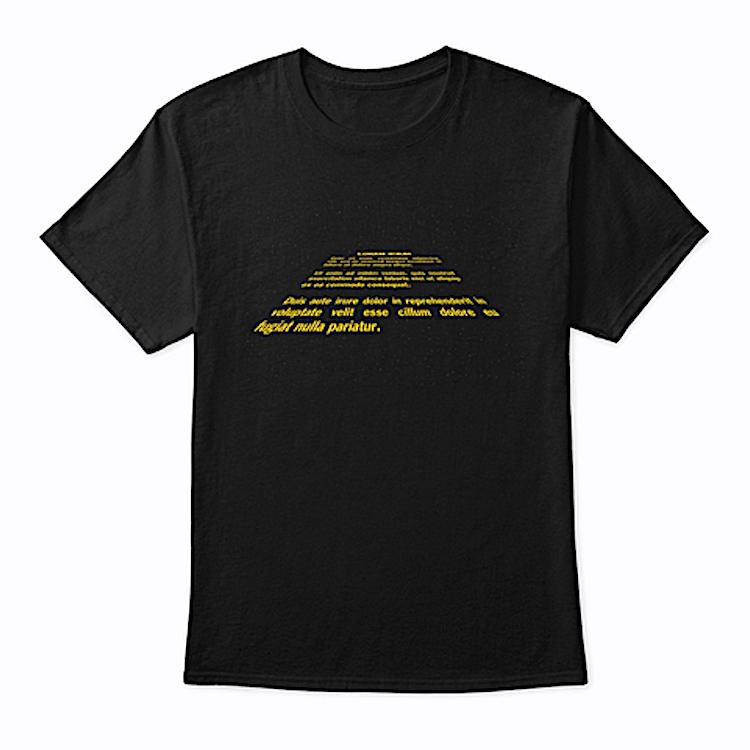 Star Wars Crawl Lorem Ipsum
