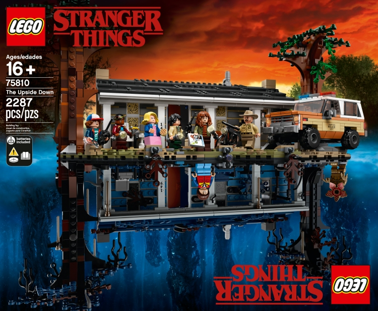 Stranger Things Front of Box