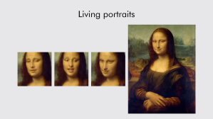 Talking Mona Lisa AI