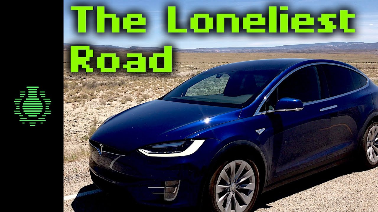 CGP Grey Drives a Tesla Across The Loneliest Road in America From San Jose to Moab to Los Angeles