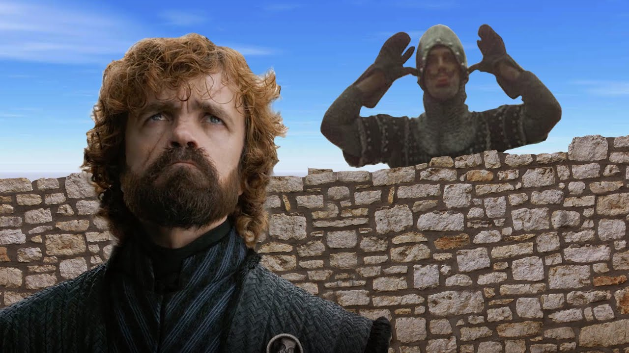 Tyrion Lannister Tries to Negotiate With the Taunting Frenchman From 'Monty Python and the Holy Grail'