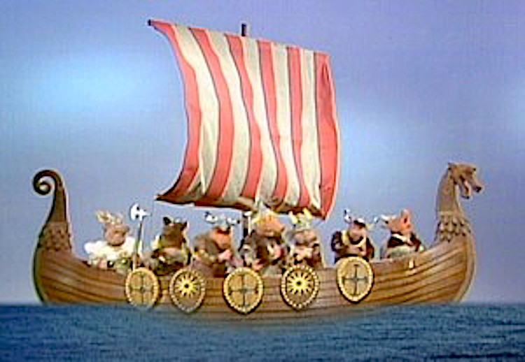 Muppet Vikings Invade a Foreign Land While Singing a Rousing Cover of the Village People's 'In the Navy'