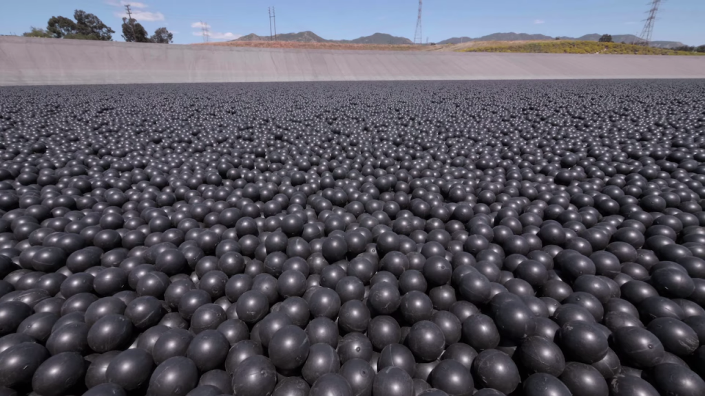 Why Are 96,000,000 Black Balls on This Reservoir