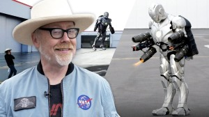 Adam Savage Iron Man Suit