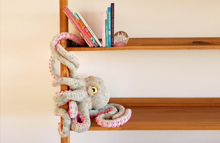 Apollo the Octopus Bookshelf