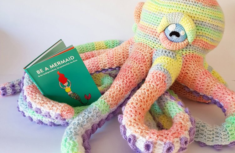 Apollo the Octopus Mermaid