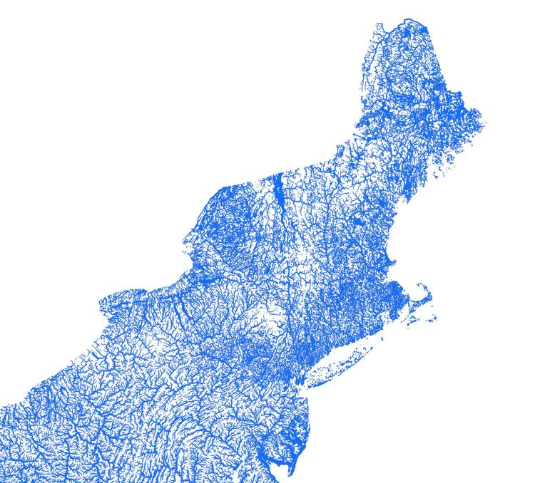 Artful Data Waterways Northeast