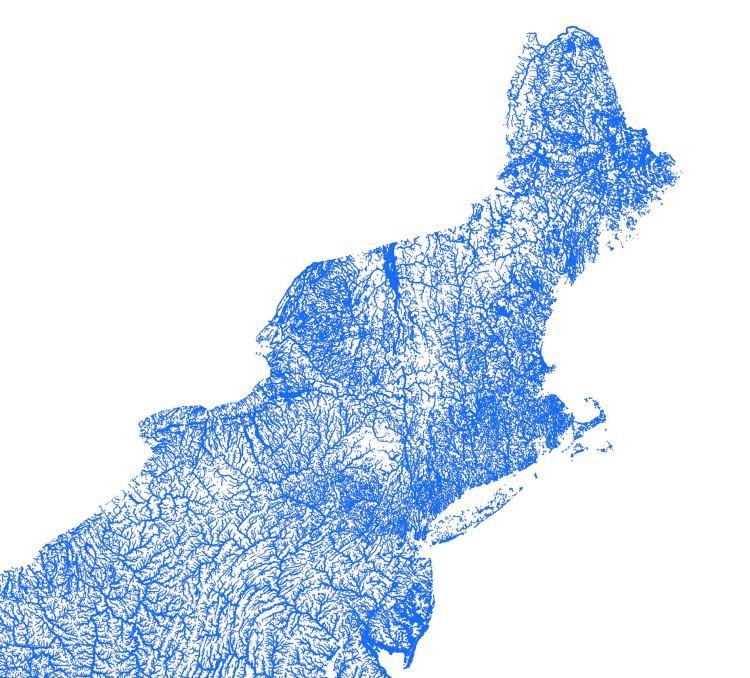 Artful Data Waterways Northeast