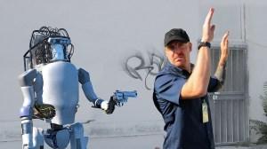 Boston Dynamics Atlas Robot Fights Back