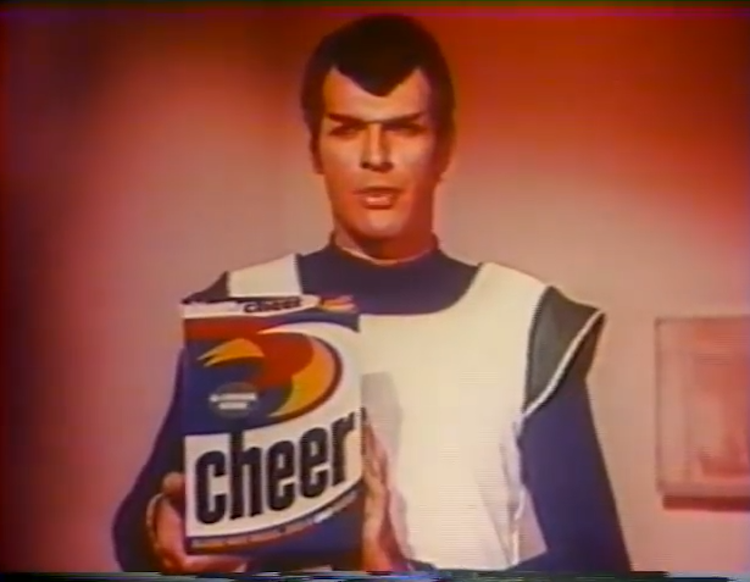 A Bizarre Cheer Laundry Detergent Commercial From 1969 That Tried to Tap Into the Popularity of 'Star Trek'