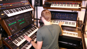 Clemens Wenners Covers Synthesizers