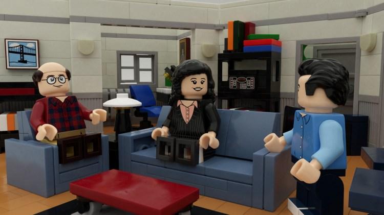 George Jerry Elaine Seinfeld LEGO