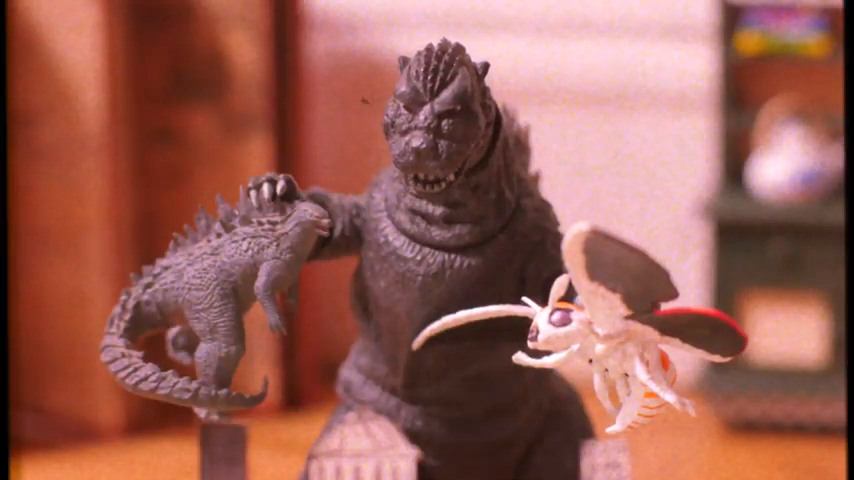 How to Make Godzilla Really Angry, A Brilliant Stop-Motion Etiquette Bumper for Alamo Drafthouse