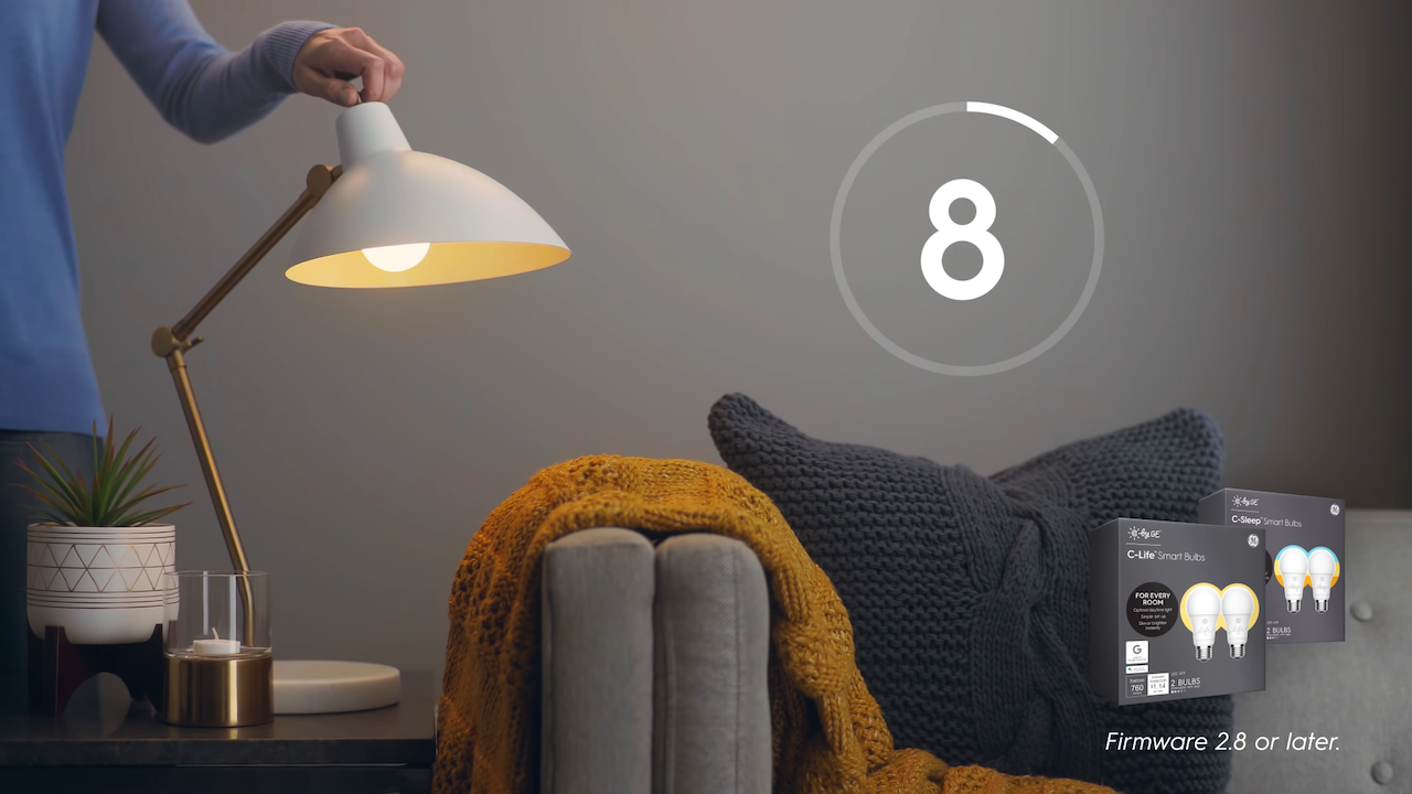 An Absurd Overly Complicated Video Showing How to Reset a C by GE Smart Bulb That Seems Like a Parody
