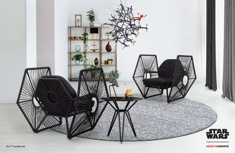 Imperial TIE Fighter Chairs Indoor