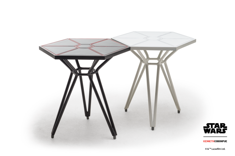 Imperial TIE Fighter Wings End Tables