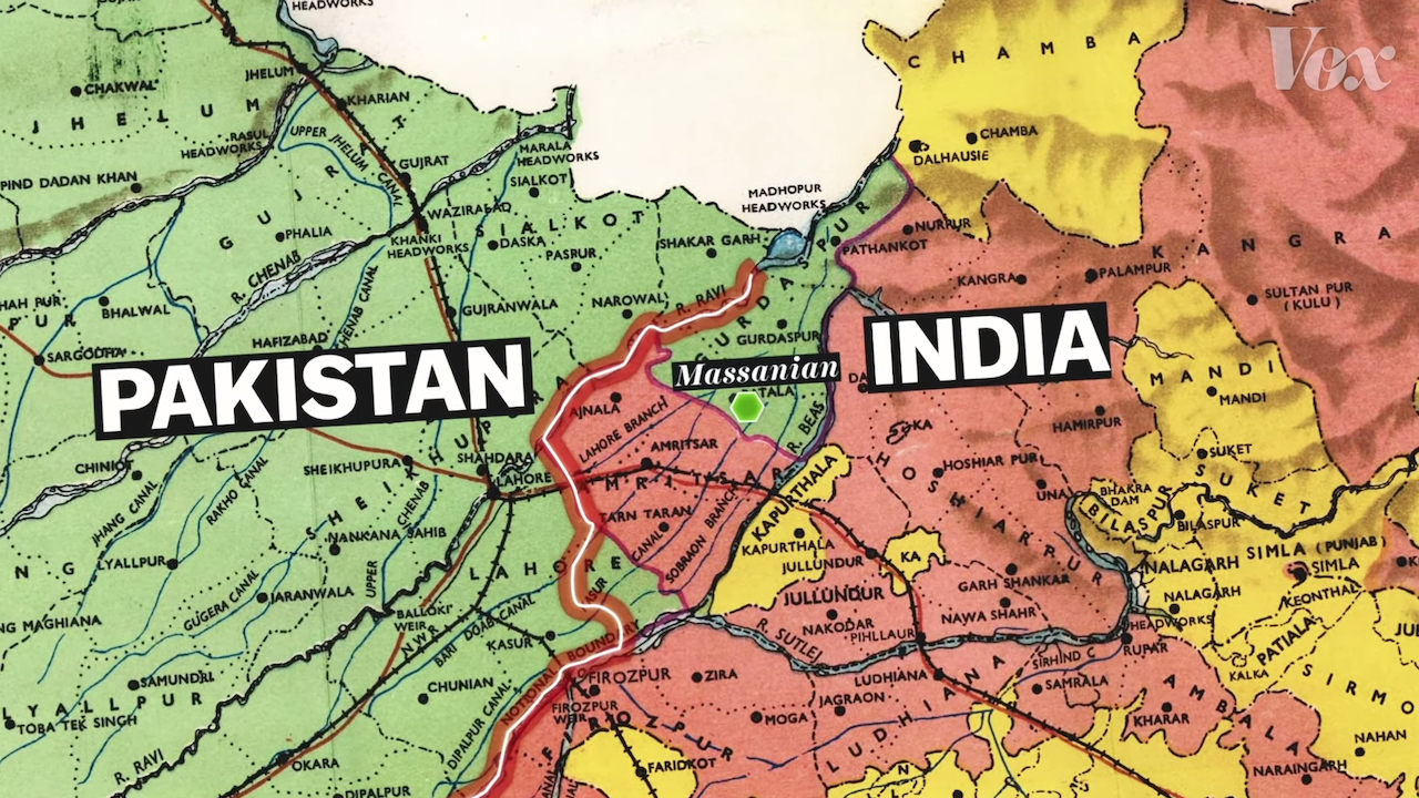 How a Hastily Drawn Border in 1947 Caused the Catastrophic ... India Map on india and pakistan history, india pakistan migration, india 1800s, india before pakistan, india and pakistan independence, india pakistan 1947, india after independence, india and pakistan conflict 2013, india colonial period, india split, india before 1947, india during british rule, india after partition, india in 1947,