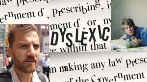 Johnny Harris Dyslexia