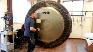Paiste 80 inch Gong Demonstration Sven Meier