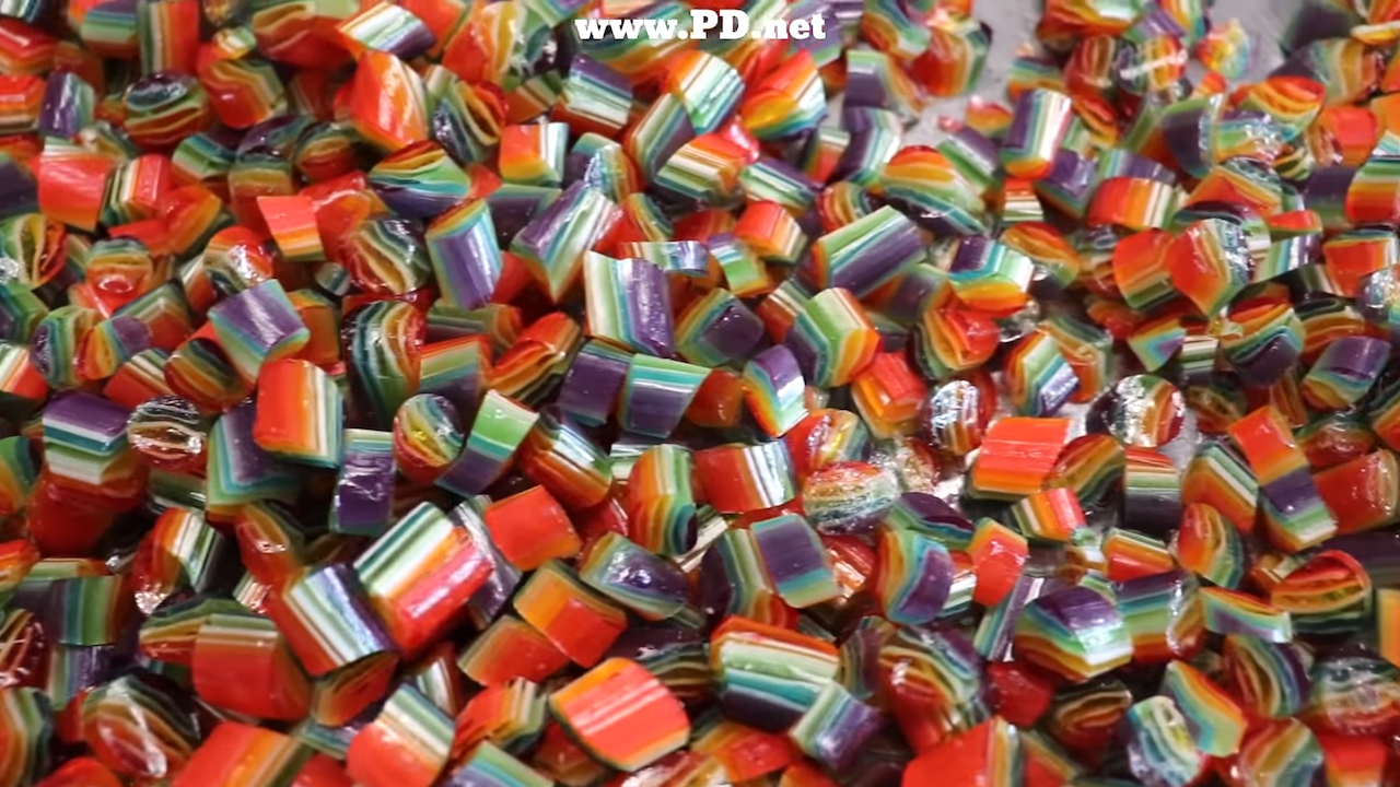 Making Rainbow Pride Candy For a Worthwhile Cause