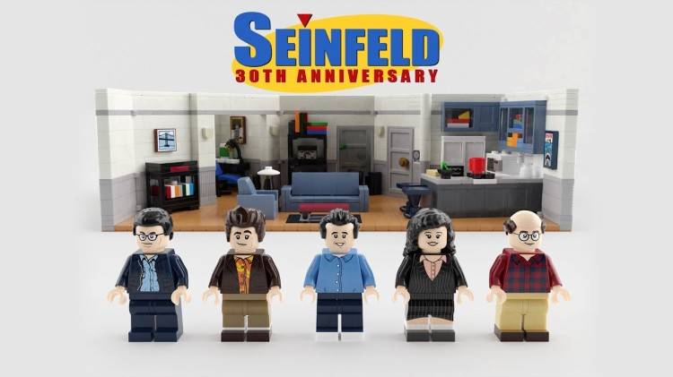 Seinfeld 30th Anniversary LEGO Set
