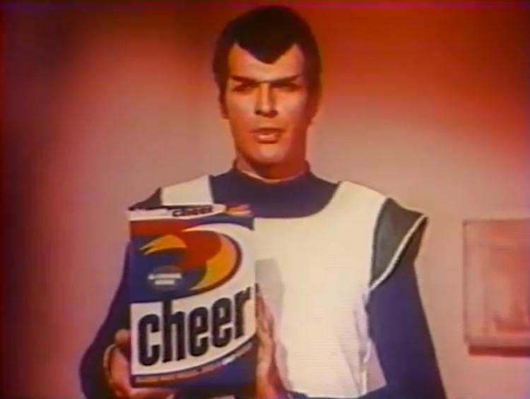 Star Trek Cheer Detergent Commercial 1969