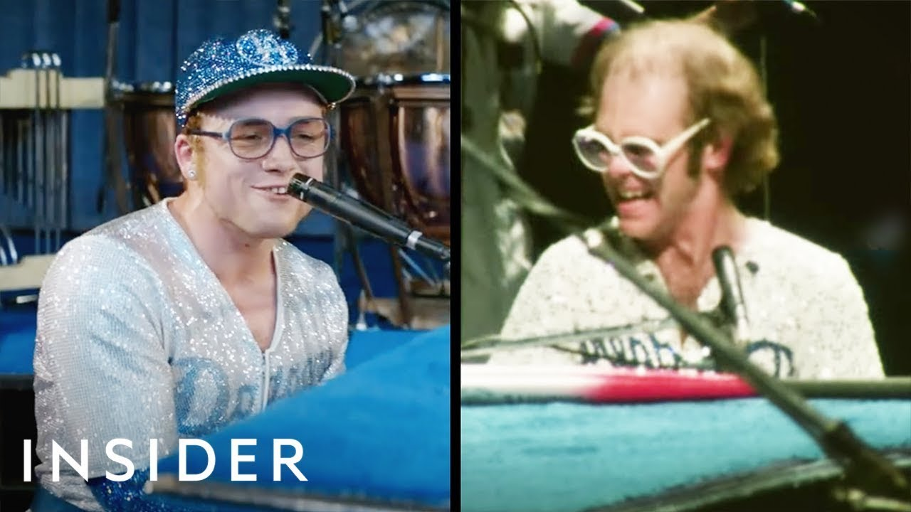 How Taron Egerton Learned How to Embody the Distinct Style of Elton John for the Film 'Rocketman'