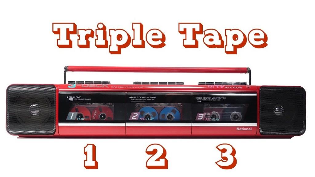Triple Cassette Tape Boombox Repair