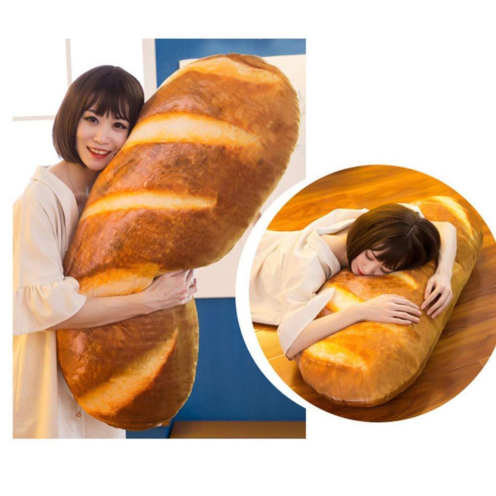 Baguette Bread Pillow Hugging