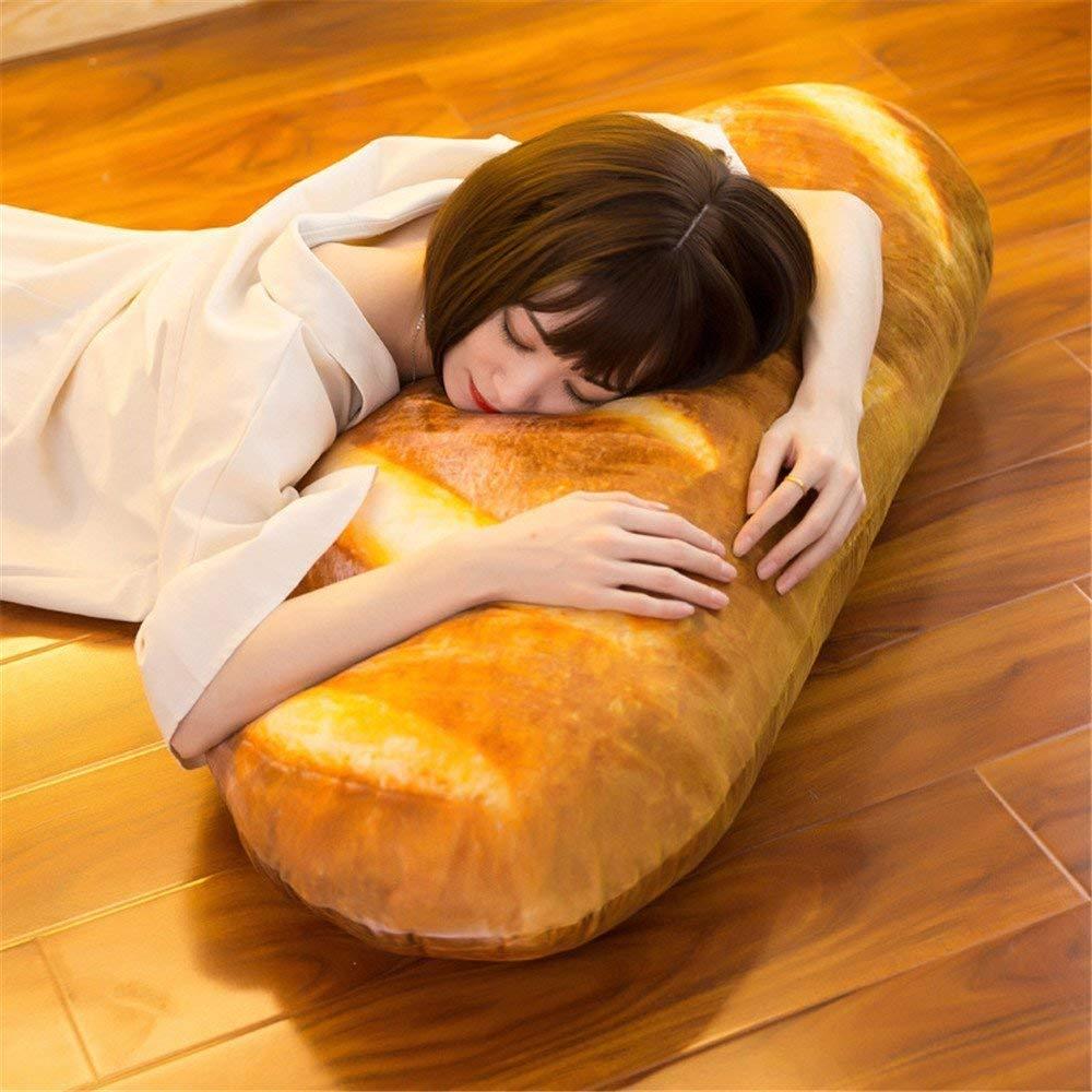 Baguette Bread Pillow Sleeping