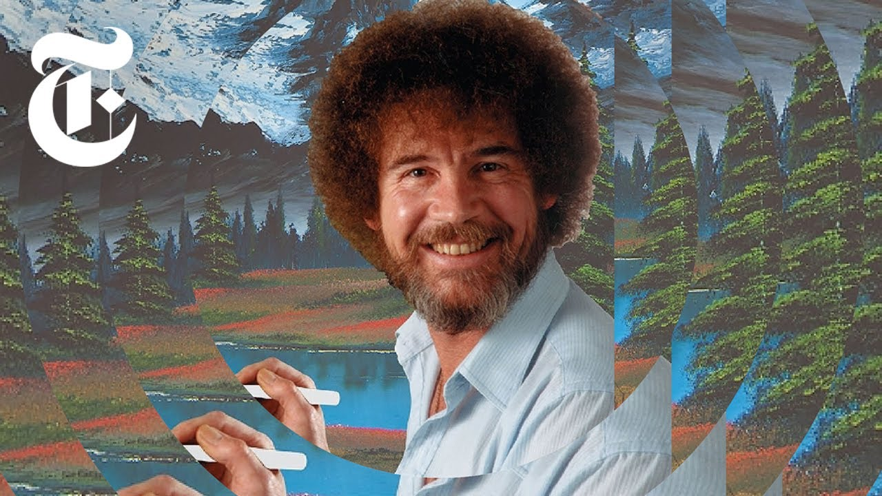 New York Times Reporter Finds the Location of Over 1,200 Bob Ross Paintings While on a Quest to Buy One