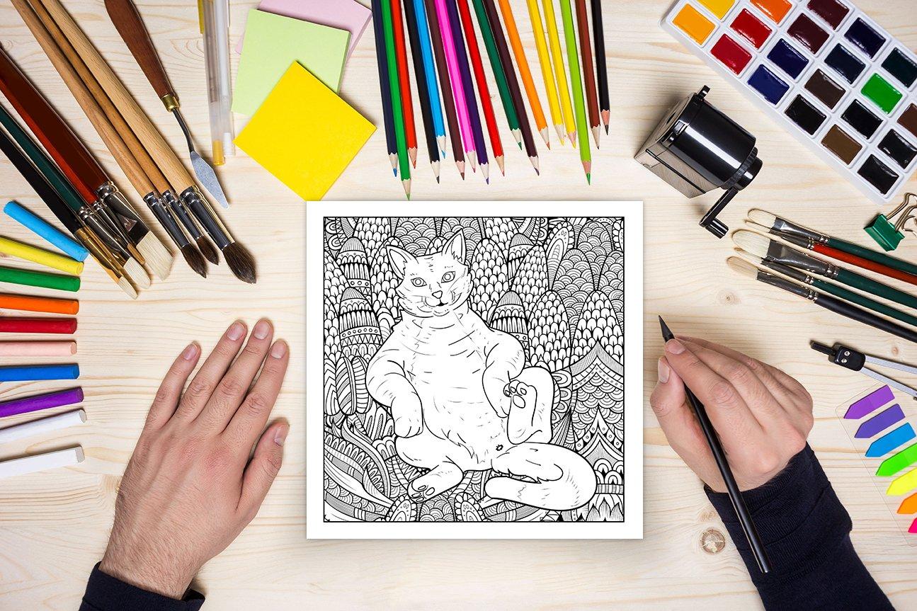 CatButt Sitting