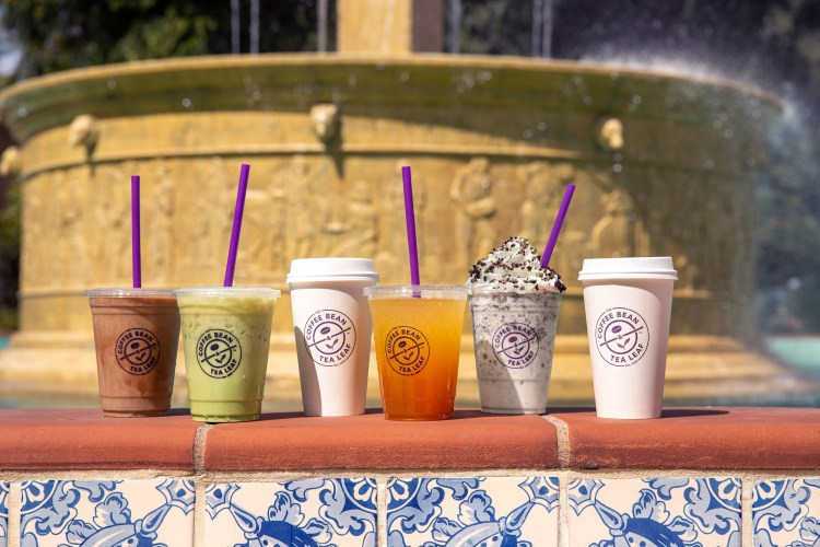 The Coffee Bean and Tea Leaf Drinks