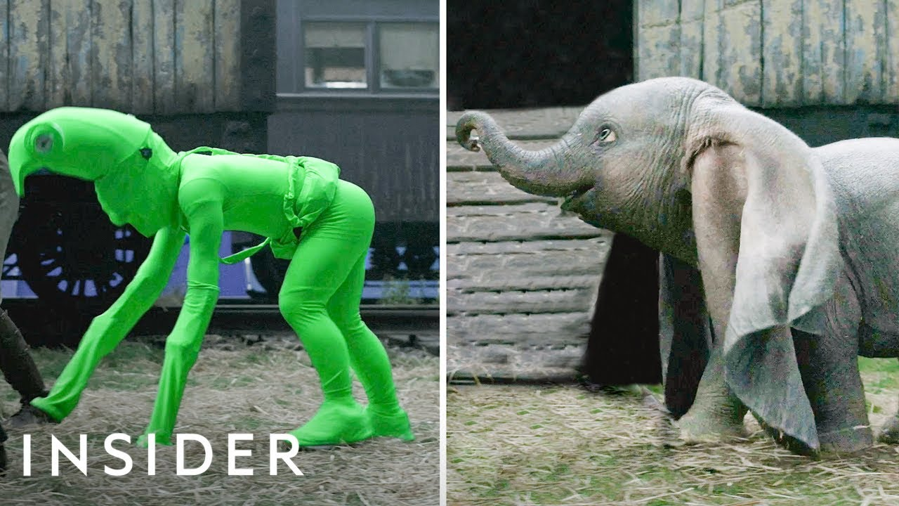 Creature Performer Edd Osmond Explains What It Was Like Playing the 'Dumbo' Live-Action Stand-In