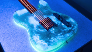 Glow in the Dark Udon Noodle Guitar