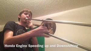 Honda Engine Speeding Up and Downshifting