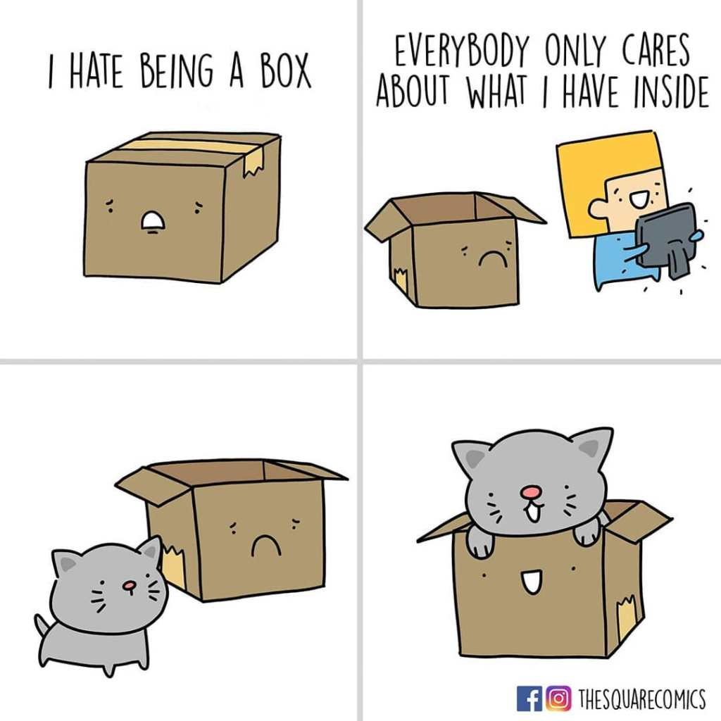 I Hate Being a Box