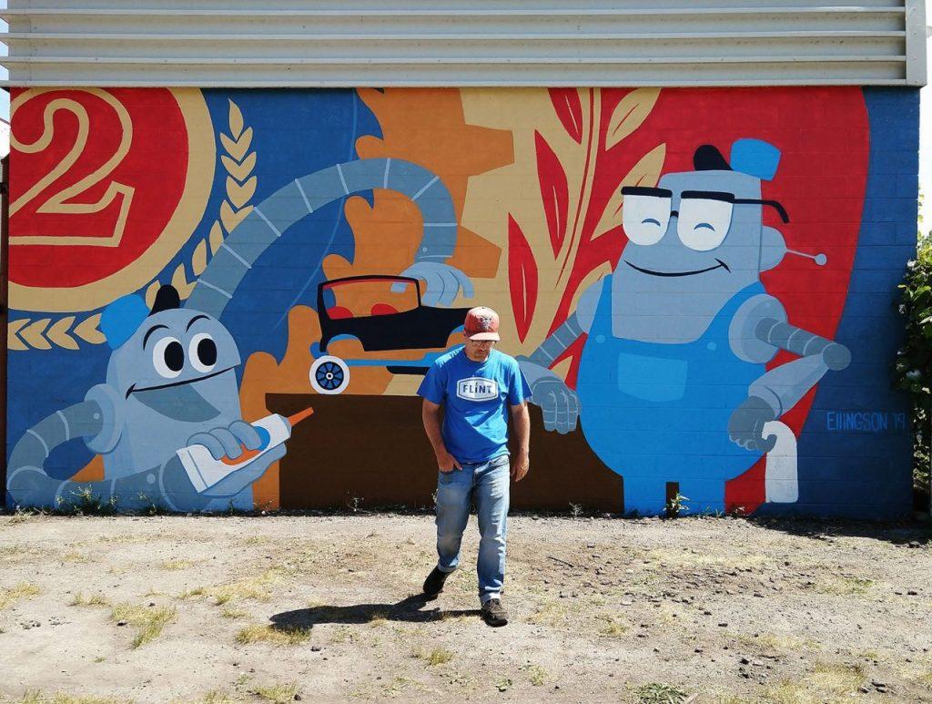 Josh Ellingson Mural Factory 2