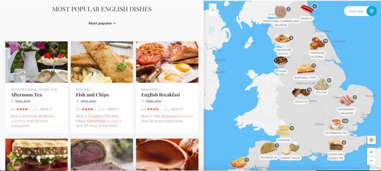 Most Popular English Dishes Taste Atlas